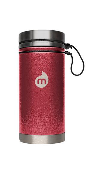 MIZU V5 Insulated Bottle 500ml Red Hammer Paint